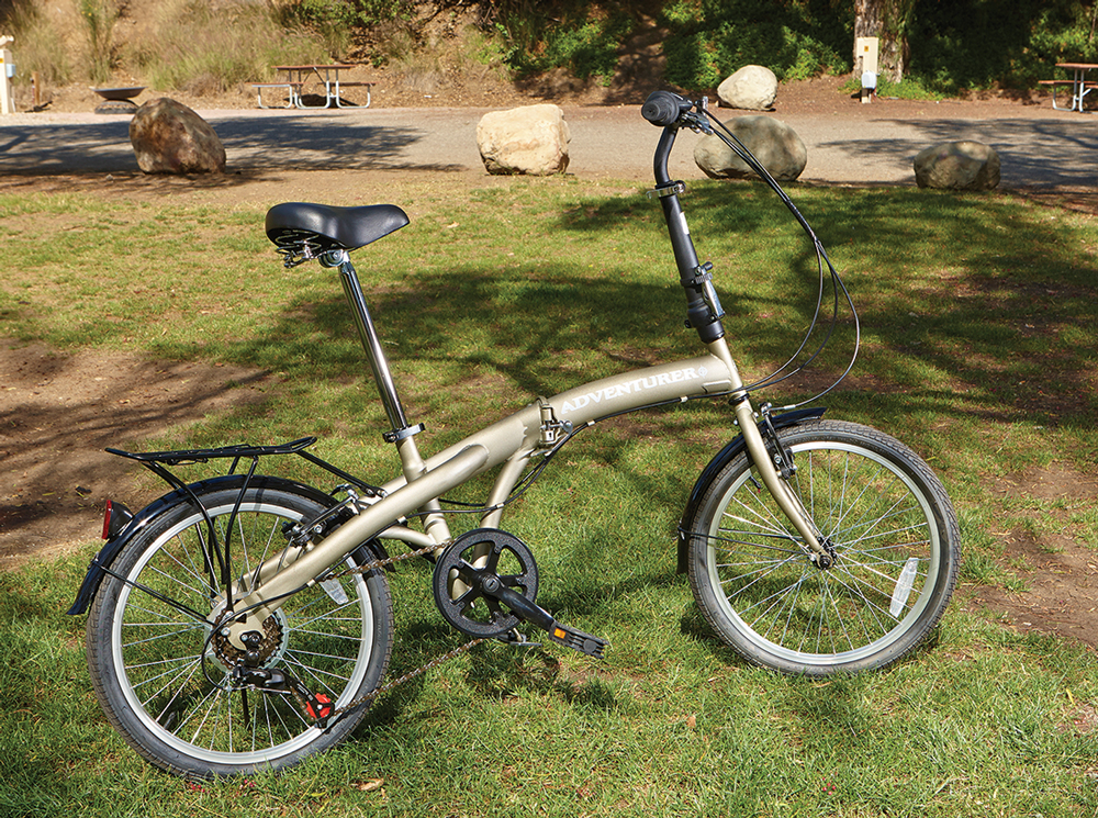 Six Speed Folding Bike