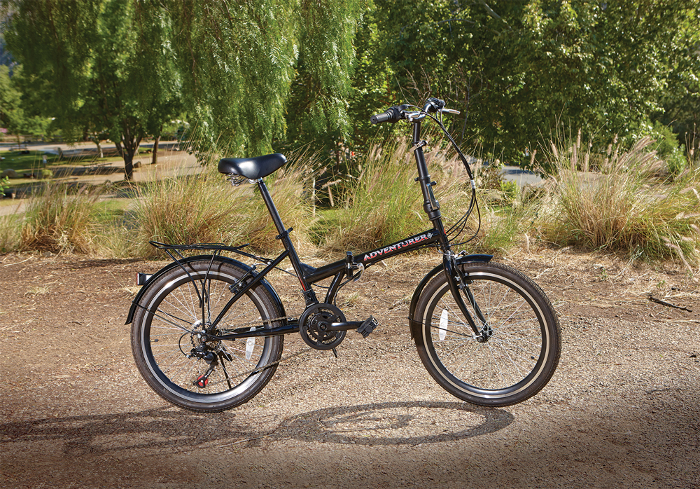Twelve Speed Folding Bike