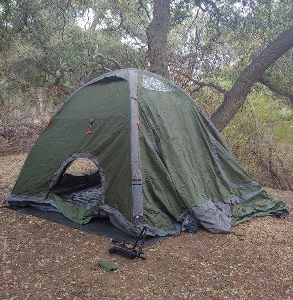 Crua Core tent inflated / Photo: Jeremy P Elder