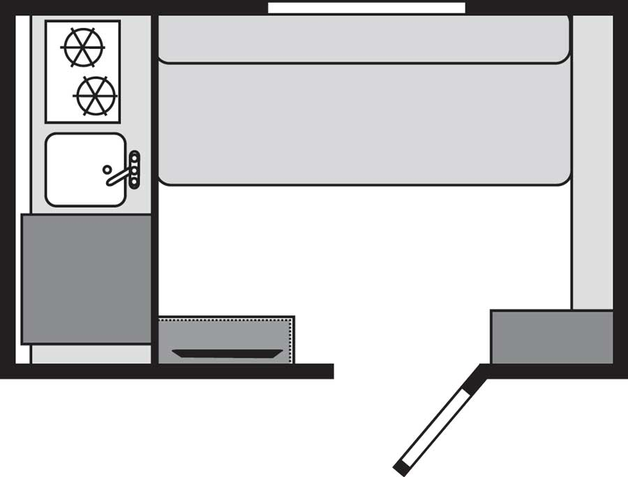 Rockwood Geo Pro G12SRK floorplan