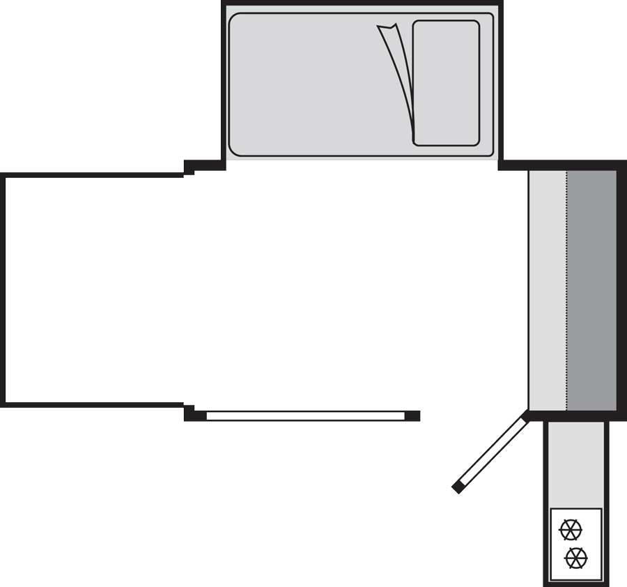 inTech Flyer Explore floorplan