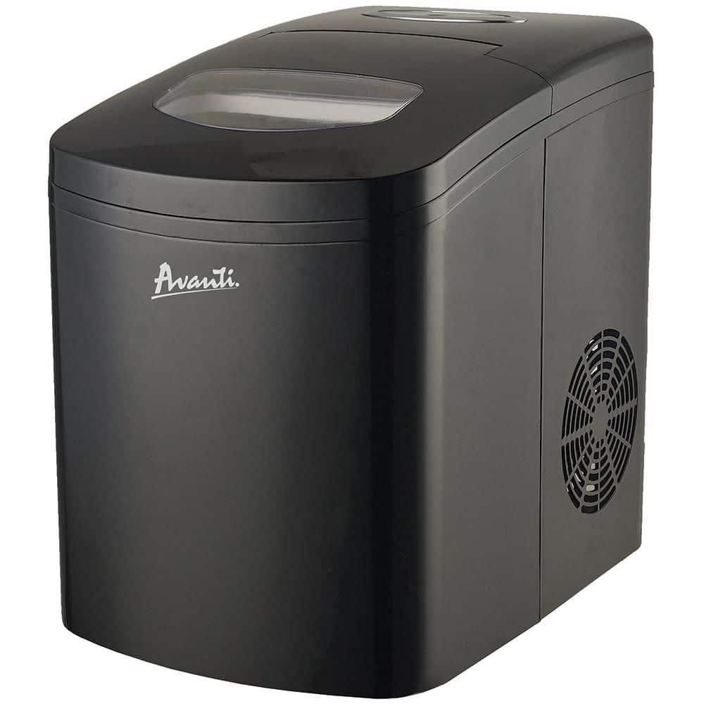 Black Avanti portable ice maker