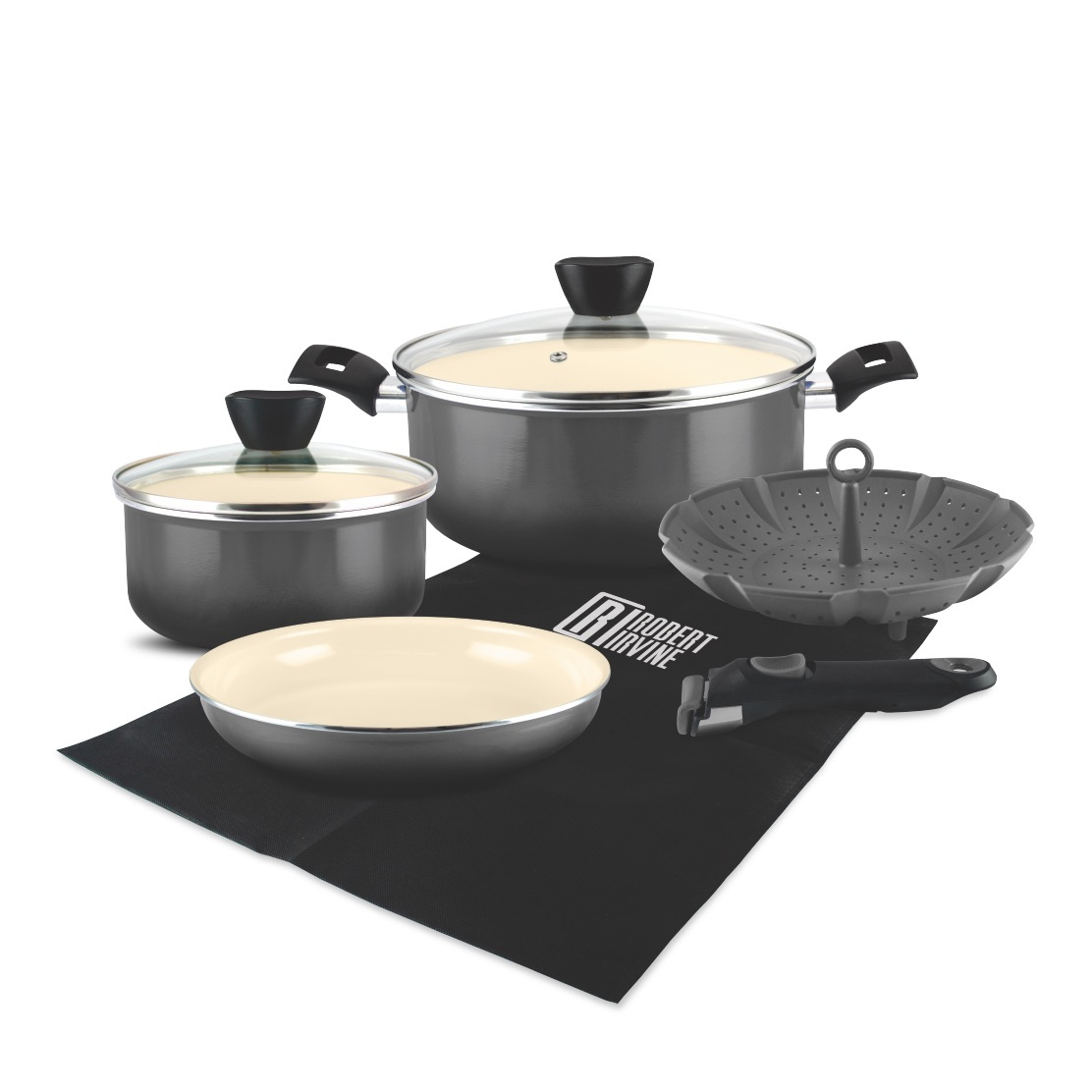 Robert Irvine 8-Piece Cookware
