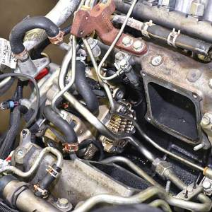 The LML Duramax with its new heart — an S&S Diesel CARB-compliant Bosch CP3