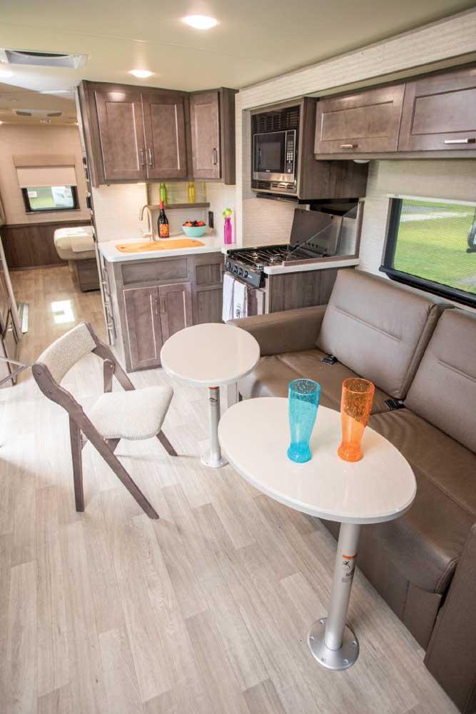 Winnebago Adventurer 30T AE interior dining area