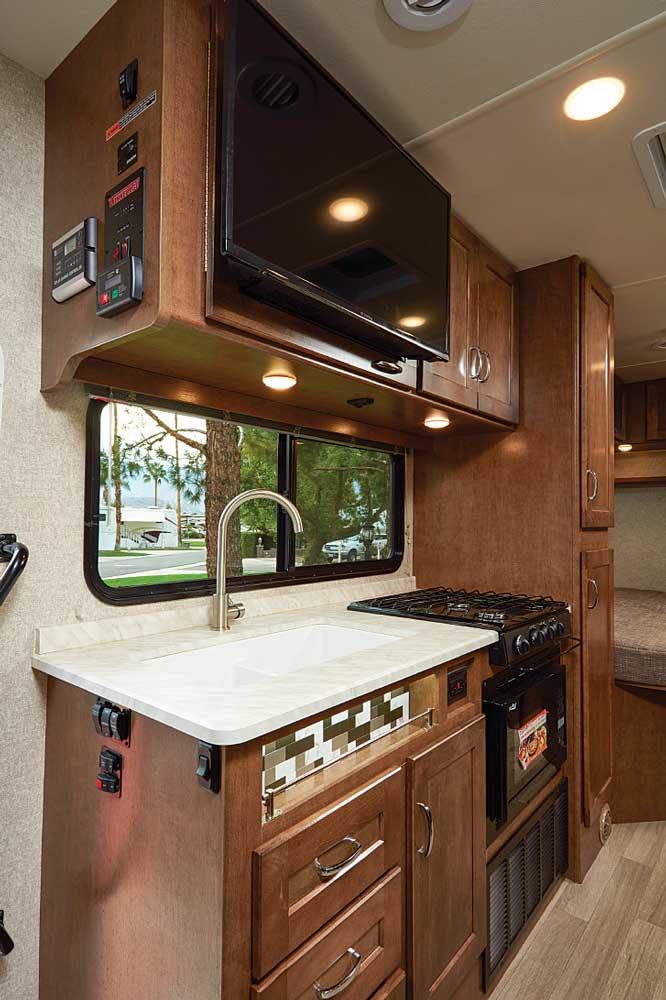 Winnebago Vita Interior kitchen