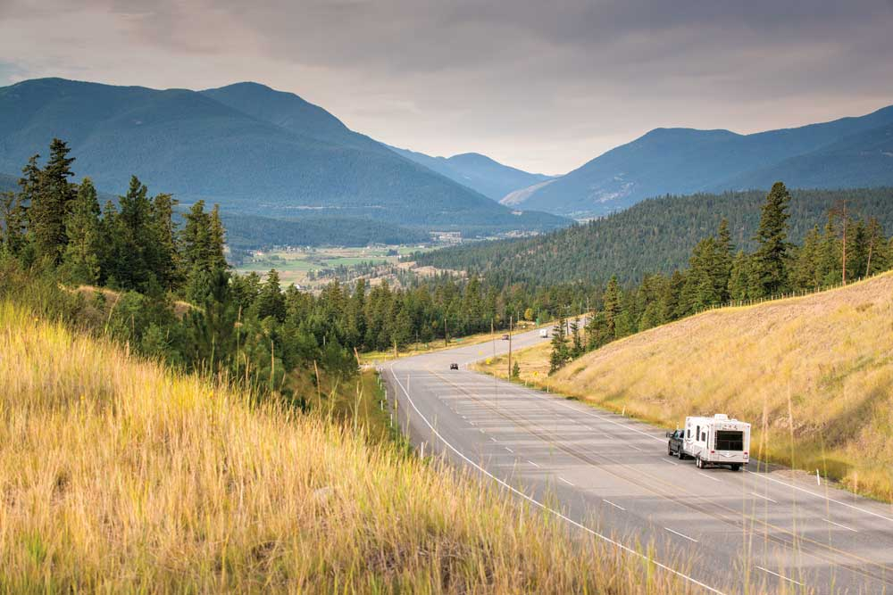 Starting in British Columbia, the Trans-Canada Highway journeys east through the country's 10 provinces. The author and his travel companion made their way through seven of them.