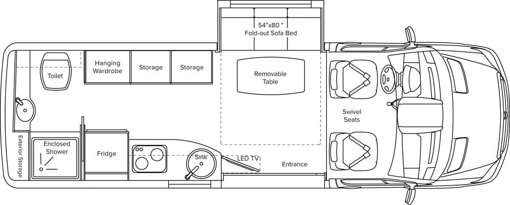 Free Spirit SS Floorplan