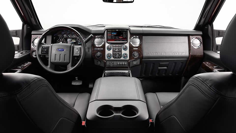 2015 F450-interior