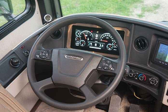 2020 Fleetwood Pace Arrow 35RB cockpit