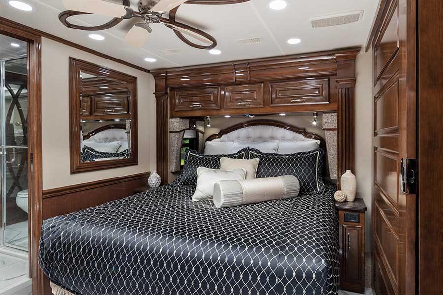 Entegra Cornerstone 45B bedroom
