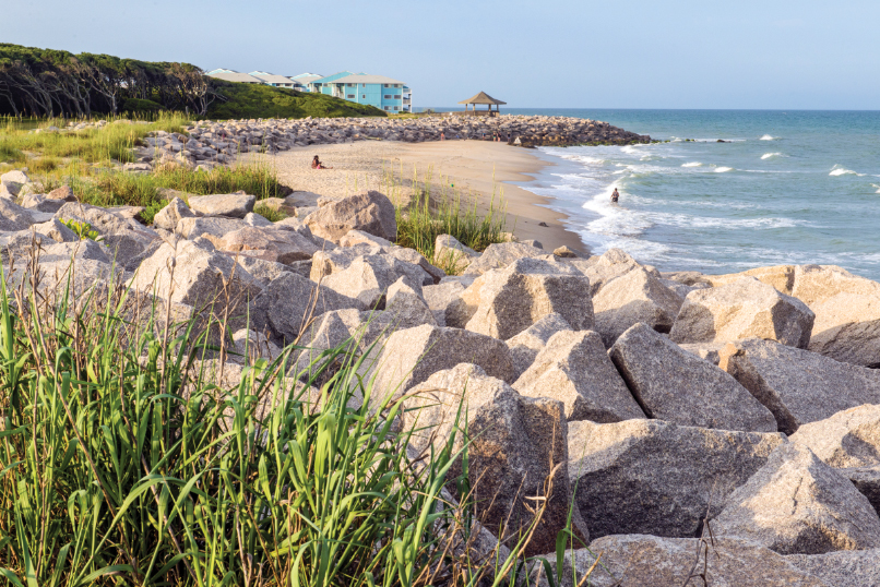 Small-town Kure Beach is an outdoor-lover's paradise with sailing, surfing and swimming opportunities.