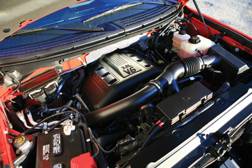 2011 Ford F-150 Twin Turbo Engine