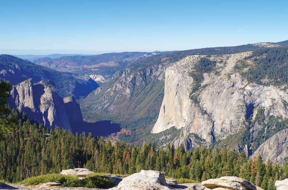 Hiking to Sentinel Dome results in panoramic 360-degree views of some of Yosemite's best, including El Capitan.