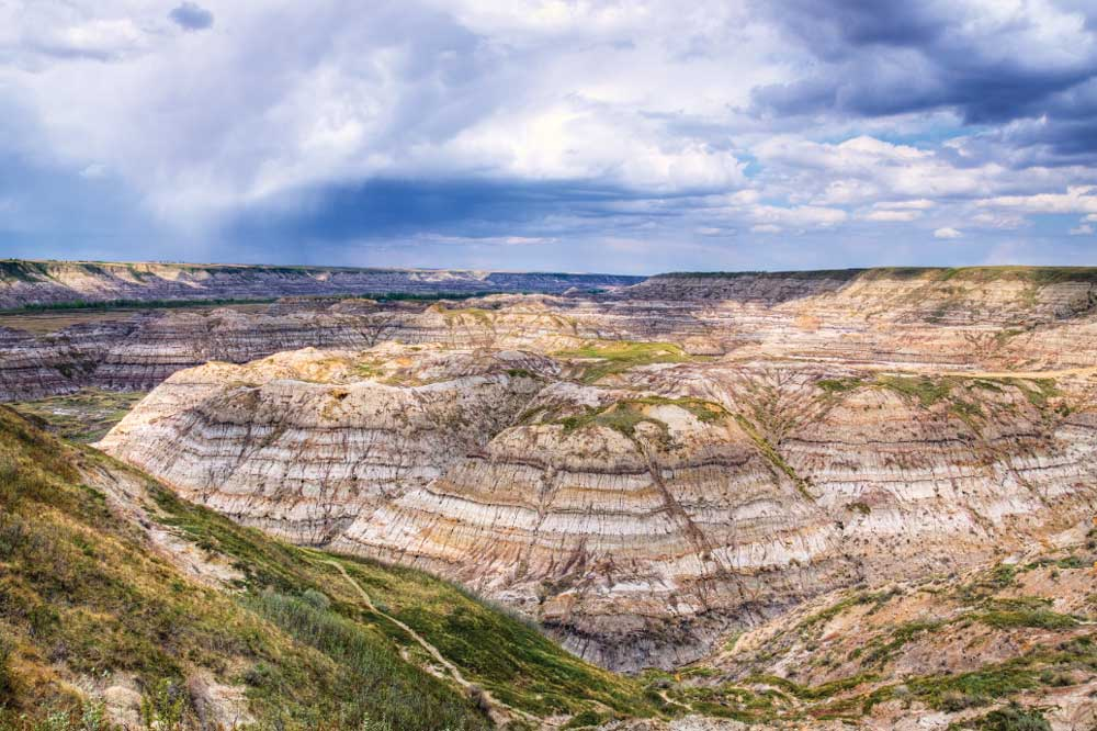 Carved by the Red Deer River, Horse Thief Canyon is a dramatic example of the badlands that blanket southeastern Alberta.