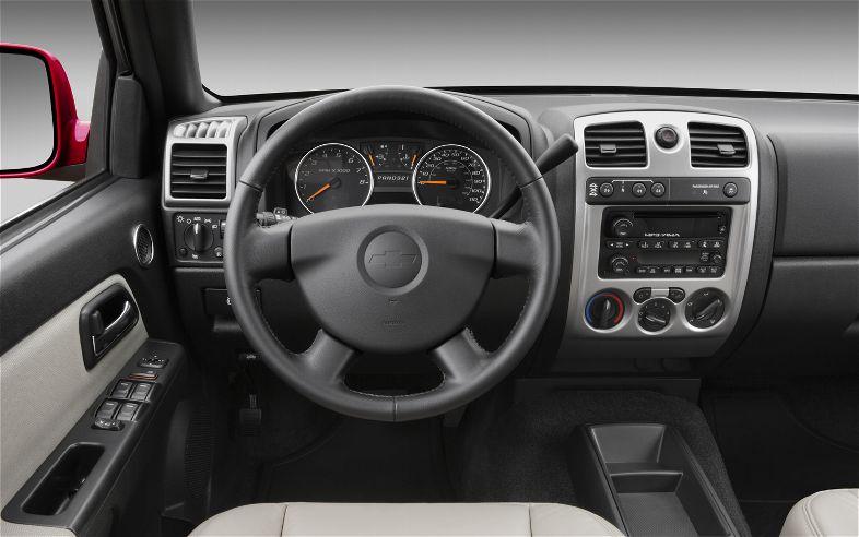 2012 Chevolet Colorado Pickup Interior