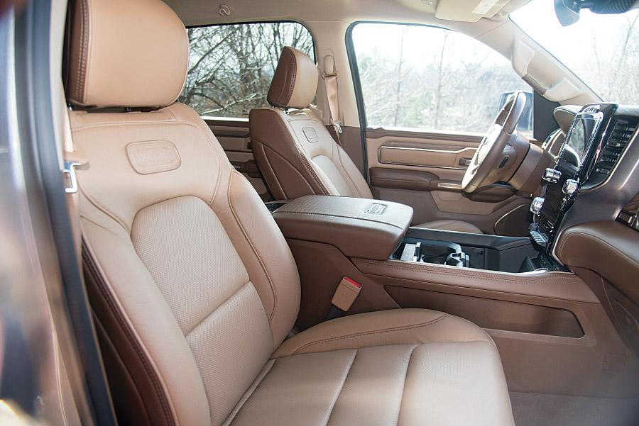 2019 RAM 1500 Longhorn cockpit