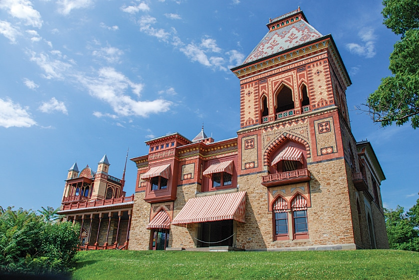 Olana is the Persian-style home of Hudson River School landscape painter Frederic Edwin Church.