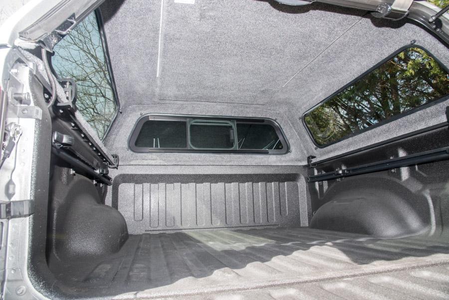 A.R.E. CX REVO truck cap interior