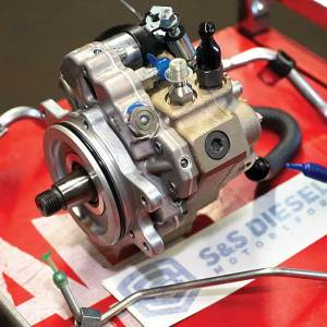 a new Bosch pump that is included in S&S Diesel's CP3 Conversion Kit