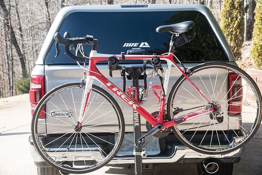 bike rack on carrier