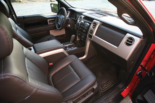 Ford F-150 Twin Turbo Ecoboost interior
