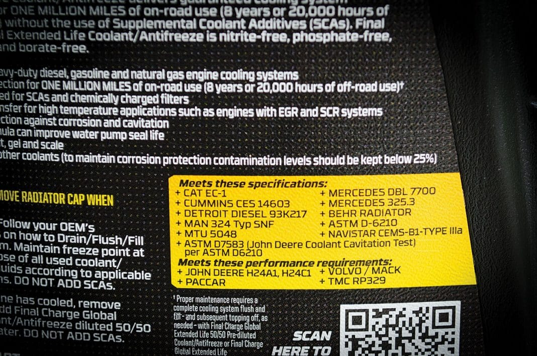 Final Charge Global Coolant