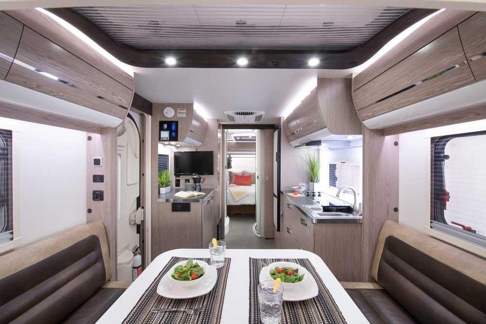 nüCamp RV Avia interior