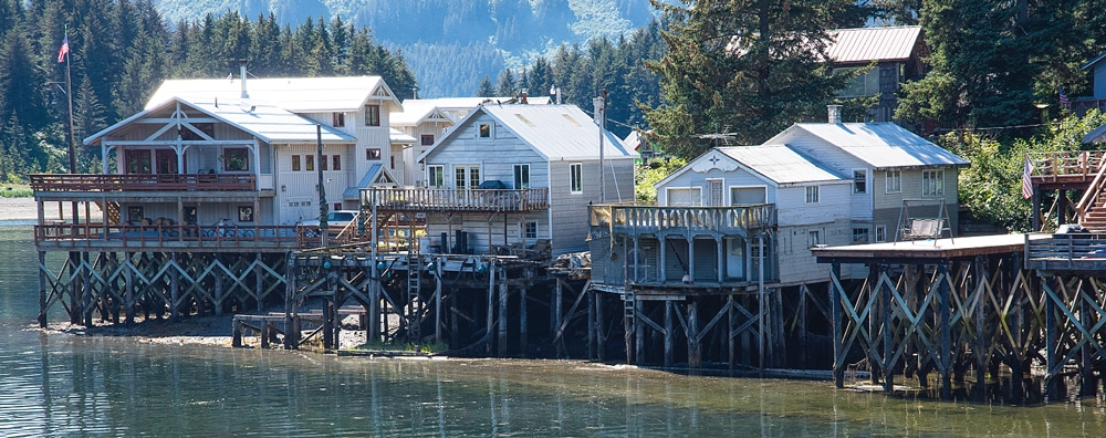 """Located on the south shore of Kachemak Bay, the landlocked village of Seldovia got its name from the Russian word seldevoy, meaning """"herring bay."""""""