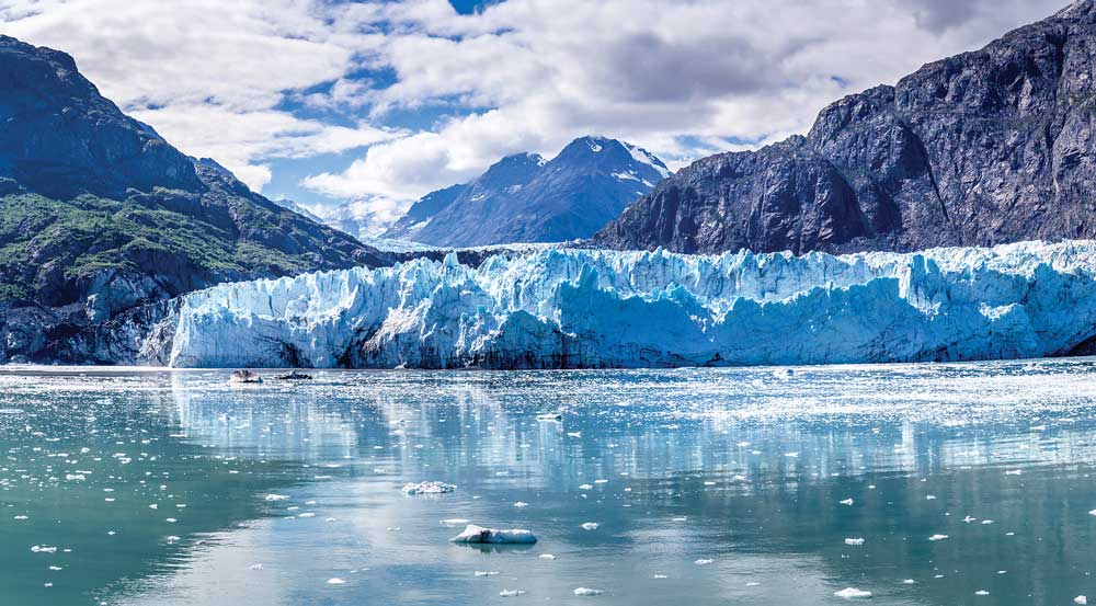 Shaped by glaciers over the millennia, the Inside Passage to Alaska is a 1,000-mile-long natural wonder. With plenty of time to enjoy the view, ferry passengers can appreciate the ever-changing panorama.
