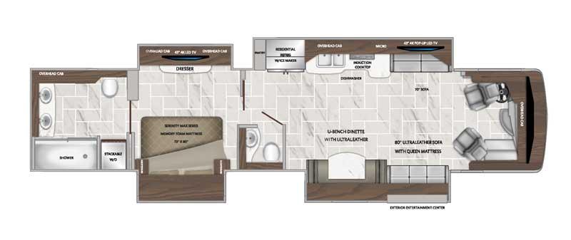 American Revolution 42V floorplan