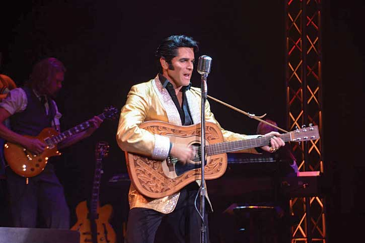 At the Legends in Concert show, award-winning impersonators pay tribute to stars like Elvis Presley, Dolly Parton and Michael Jackson.