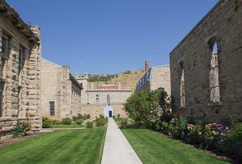 The Old Idaho Penitentiary, once home to some of the West's most desperate criminals, is now a museum.