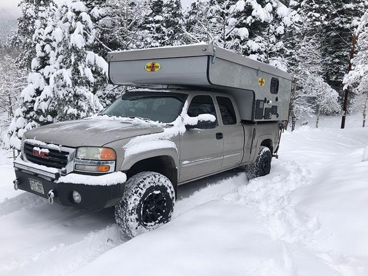 BunduTec USA Wild slide-in camper