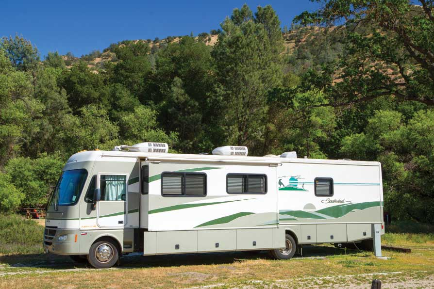 Many campgrounds in the eastern section of Pinnacles National Park offer electric hookups.
