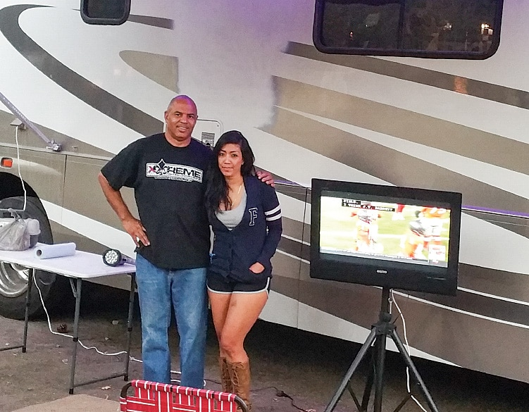 Lamar and Winda Johnson are enjoying the good life after an intensive six-month restoration of their salvaged Coachmen Cross Country Eilte 37.5 Class A.