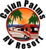 Cajun Palms RV Resort logo