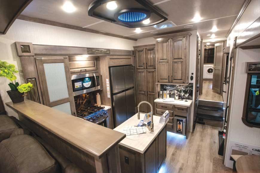 Cedar Creek Champagne 38ERD interior galley