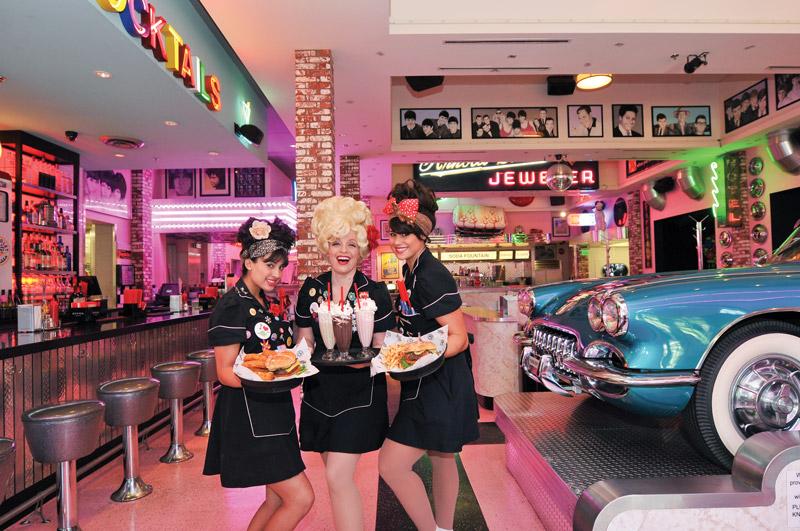 Corvette Diner in San Diego