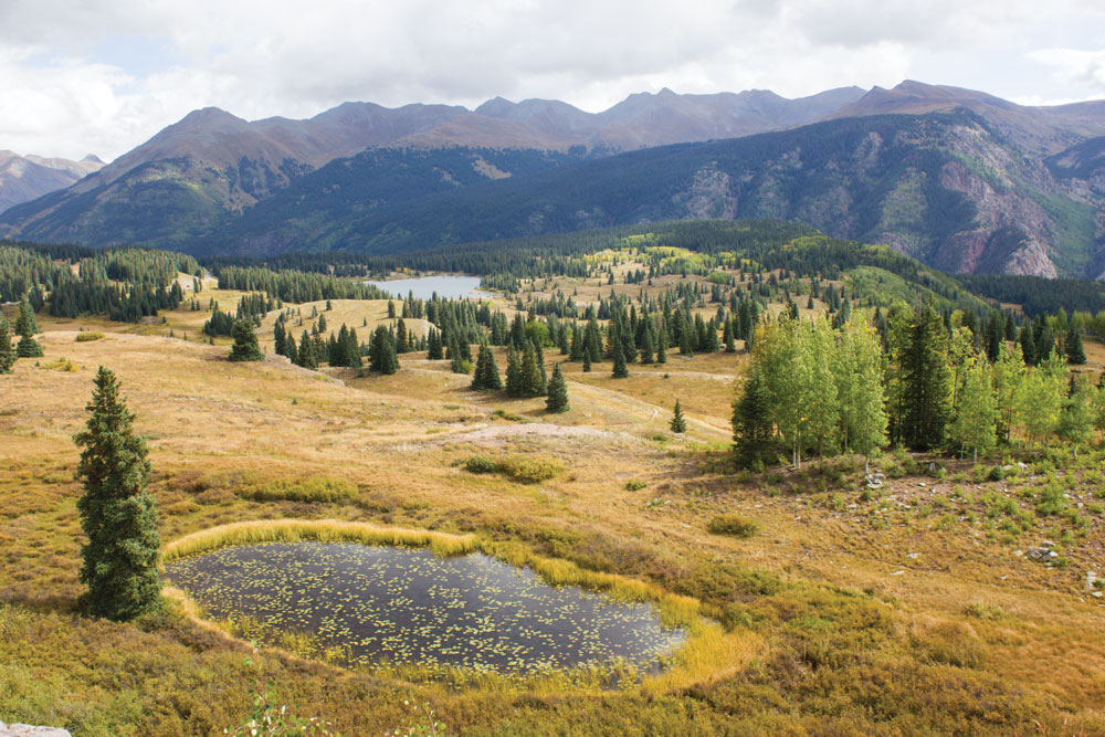 Molas Pass, at an elevation of 10,899 feet, is on U.S. Highway 550 south of Silverton, and is also called the Million Dollar Highway.