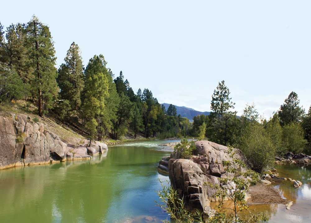 Baker's Bridge was the picturesque site of Butch Cassidy and the Sundance Kid's daring jump into the river below.