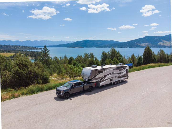 Montana RV by Montana's Flathead Lake