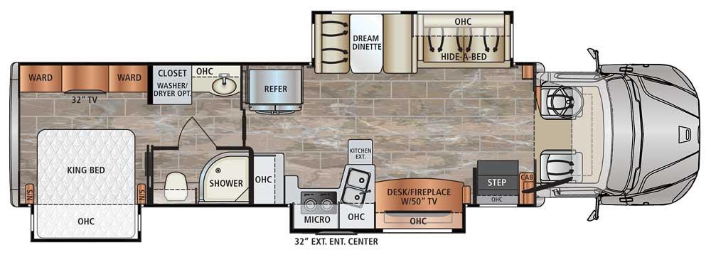 Dynamax Dynaquest XL 3801TS floorplan