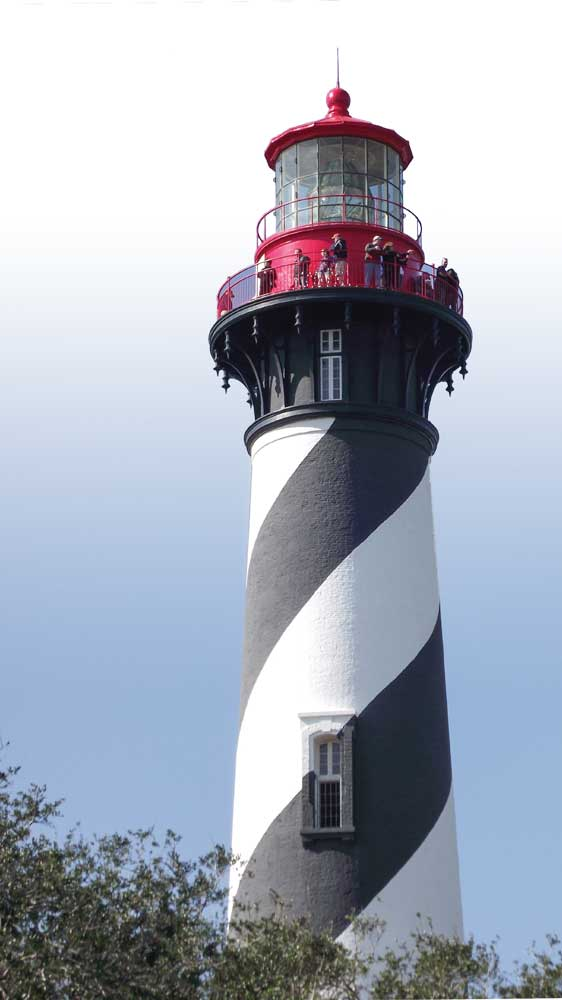 St. Augustine's working lighthouse stands 165 feet above sea level and also serves as a museum to teach visitors about the island's rich past. Special guided tours are available.