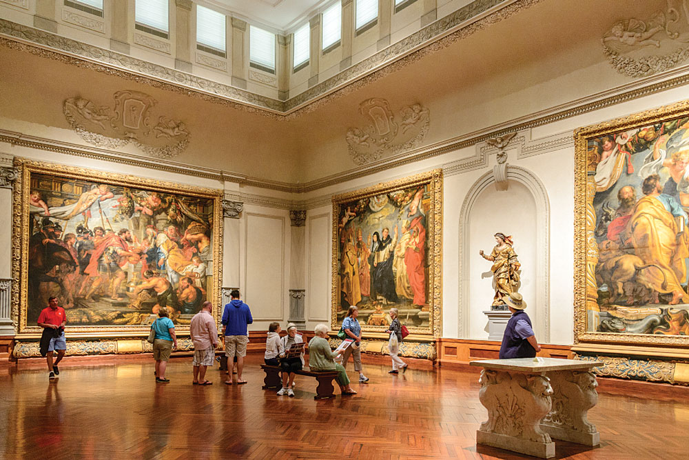 Magnificent artwork by Baroque master Peter Paul Rubens fills the walls of the John and Mable Ringling Museum of Art.