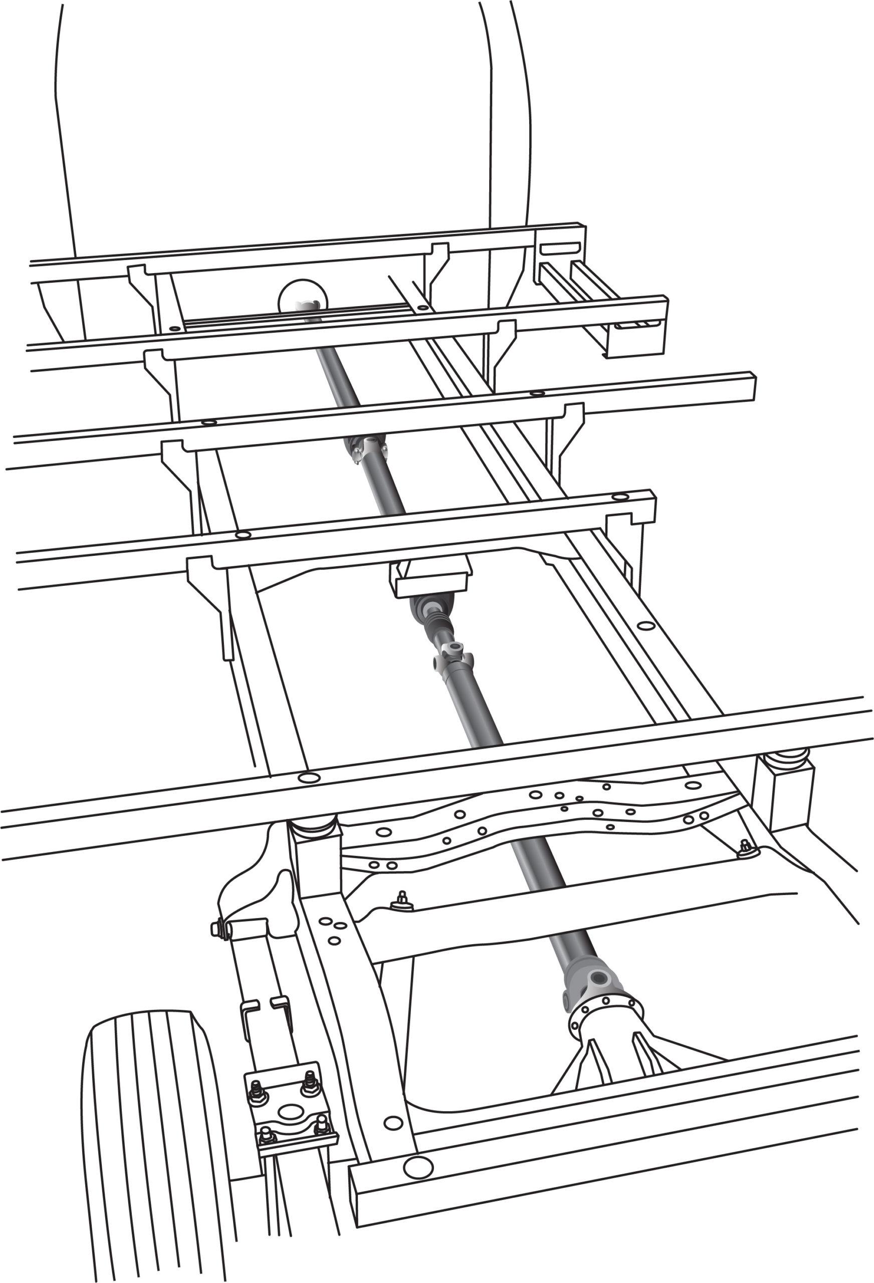 Driveshaft illustration