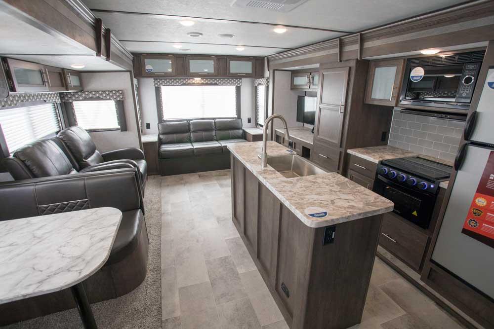 Dutchmen Coleman 2955RL Light Series interior