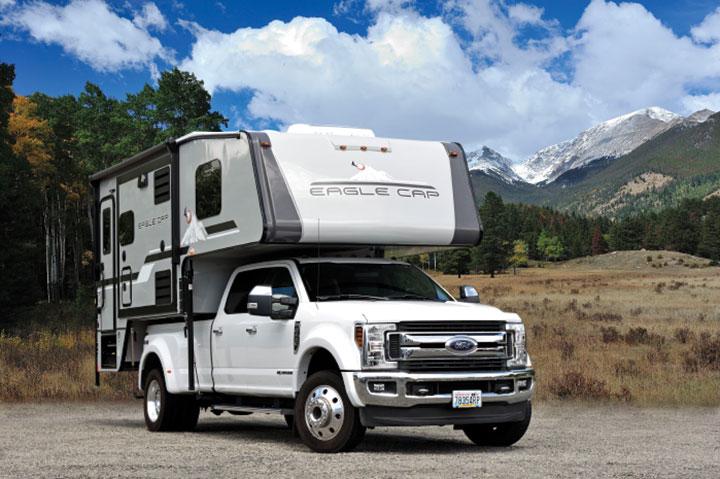 Eagle Cap 1200 slide-in truck camper
