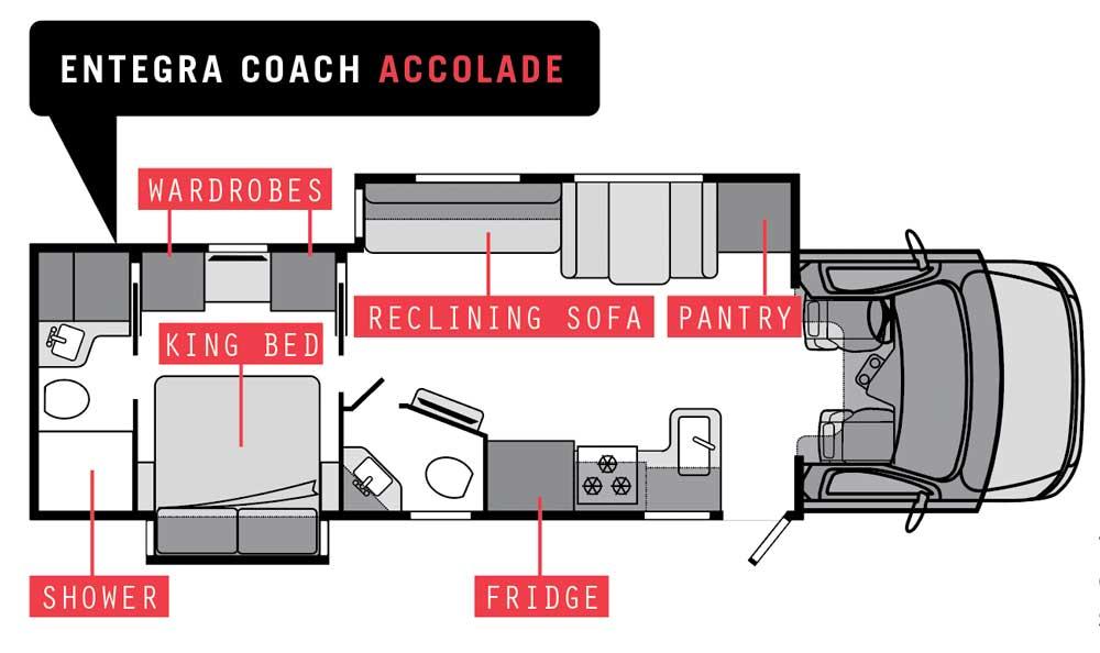 Entegra Coach Accolade 37K floorplan