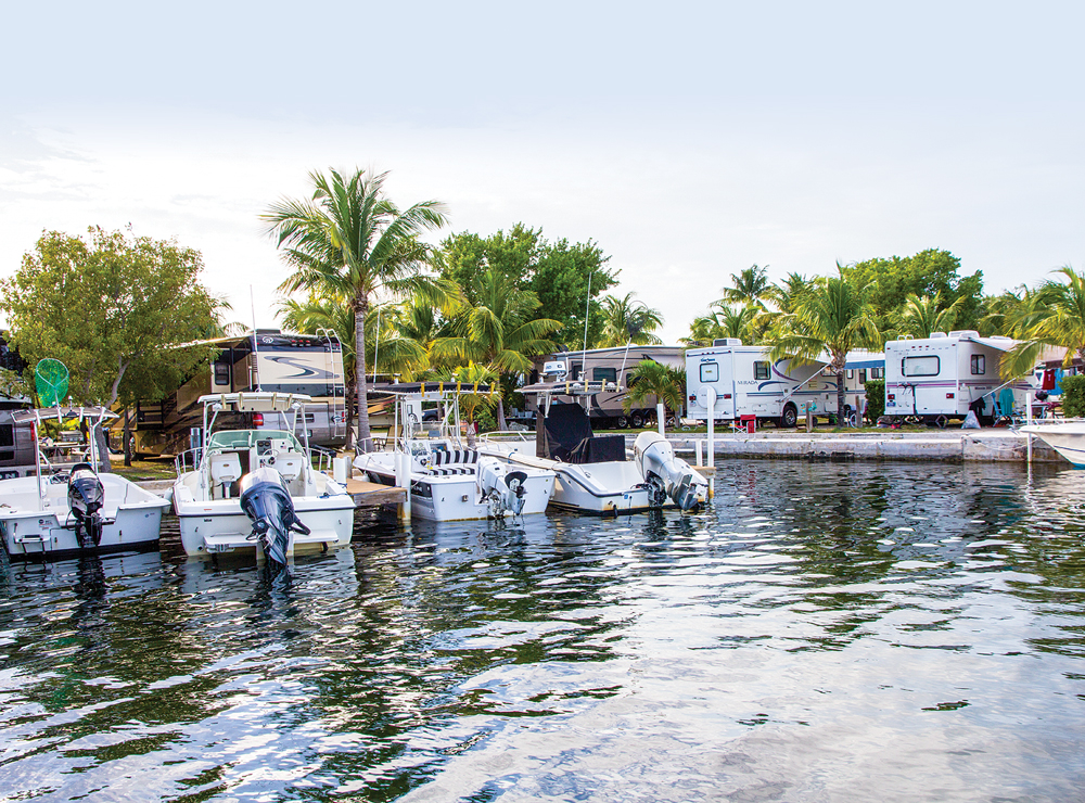 Boyd's Key West Campground offers oceanfront RV sites just minutes from Duval Street.